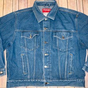 Wrangler Hero Mens denim Jean jacket Sz XL